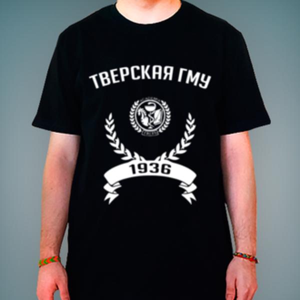 Футболка с логотипом Тверской государственный медицинский университет (Тверская ГМУ)