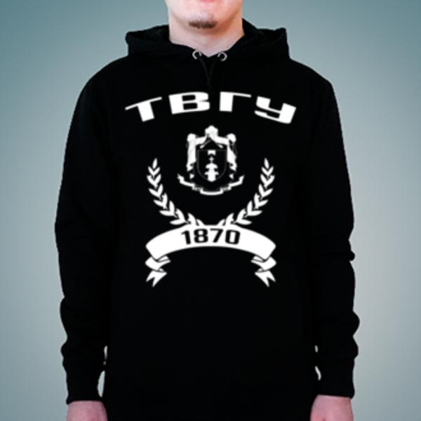 Толстовка с логотипом Тверской государственный университет (ТвГУ)