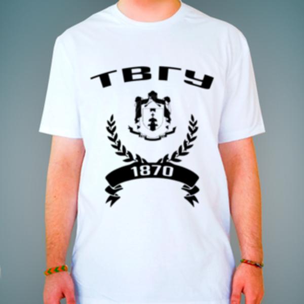 Футболка с логотипом Тверской государственный университет (ТвГУ)