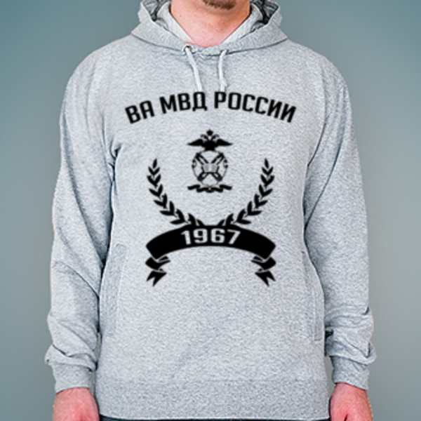 Толстовка с логотипом Волгоградская академия МВД России (ВА МВД России)