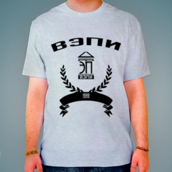 Футболка с логотипом Воронежский экономико-правовой институт (ВЭПИ)