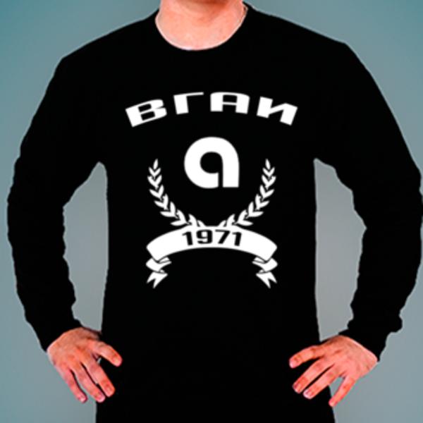 Свитшот с логотипом Воронежская государственная академия искусств (ВГАИ)