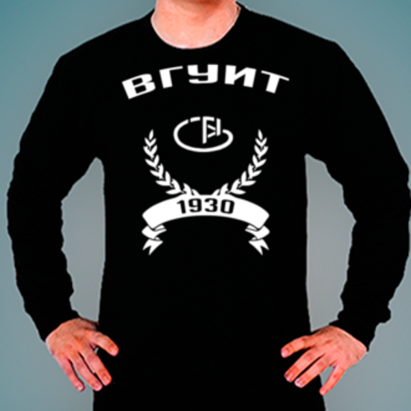 Свитшот с логотипом Воронежский государственный университет инженерных технологий (ВГУИТ)