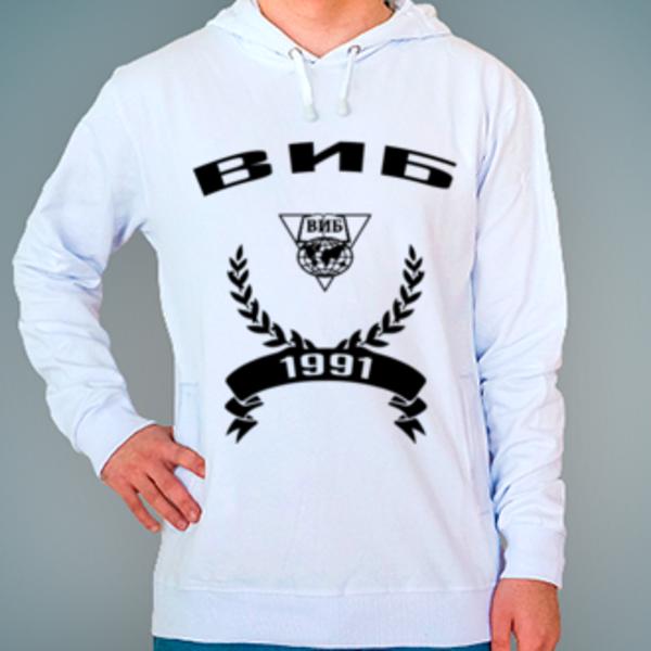 Толстовка с логотипом Владимирский институт бизнеса (ВИБ)