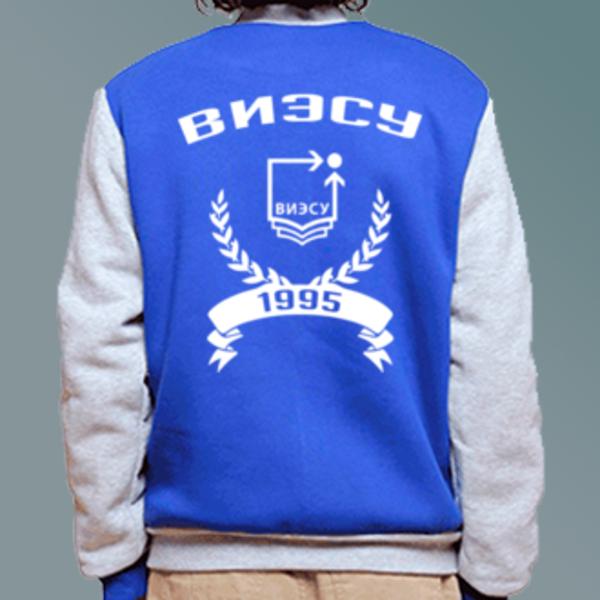 Бомбер с логотипом Воронежский институт экономики и социального управления (ВИЭСУ)