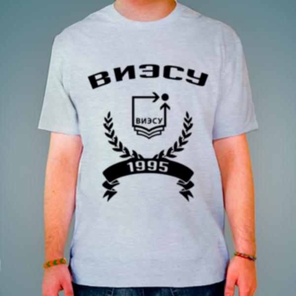 Футболка с логотипом Воронежский институт экономики и социального управления (ВИЭСУ)