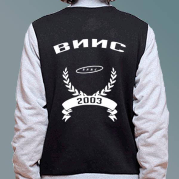 Бомбер с логотипом Воронежский институт инновационных систем (ВИИС)