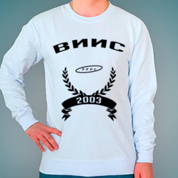 Свитшот с логотипом Воронежский институт инновационных систем (ВИИС)