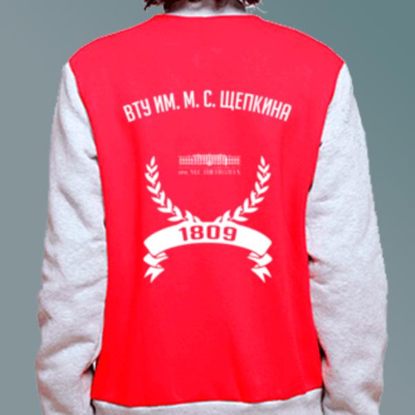 Бомбер с логотипом Высшее театральное училище им. М. С. Щепкина (ВТУ им. М. С. Щепкина)
